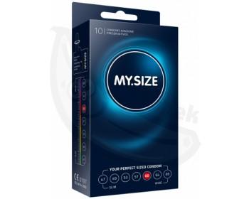 Fotka 1 - Kondomy MY.SIZE 60 mm 10 ks