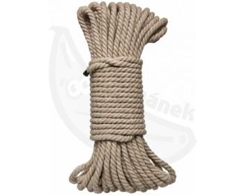 Fotka 1 - Konopné lano na bondage 15 m