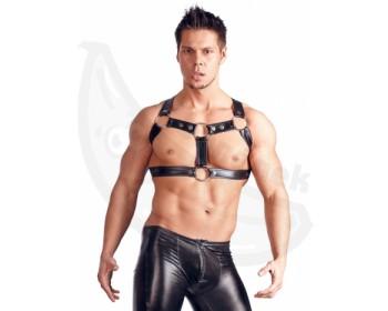 Fotka 1 - Hrudní postroj pro BDSM hrátky Chest Harness