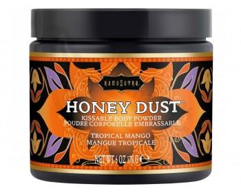 Fotka 1 - Slíbatelný tělový pudr Honey Dust Tropical Mango
