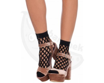 Fotka 1 - Černé ponožky s velkými oky
