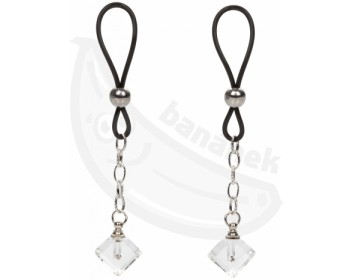 Fotka 1 - Šperk na bradavky Crystal Gem 2 ks