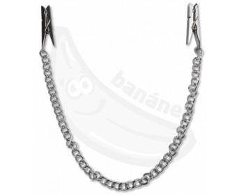 Fotka 1 - Svorky na bradavky ve tvaru kolíčků s řetízkem
