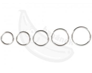 Fotka 1 - Sada kovových erekčních kroužků 5 ks