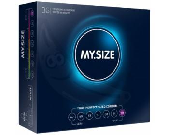 Fotka 1 - Kondomy MY.SIZE 69 mm 36 ks