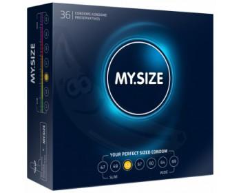 Fotka 1 - Kondomy MY.SIZE 53 mm 36 ks