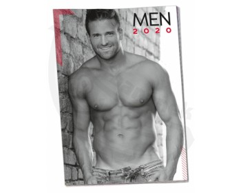 Fotka 1 - Nástěnný kalendář na rok 2020 Sexy muži