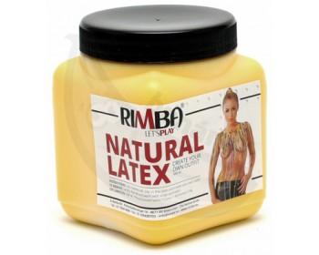 Fotka 1 - Tekutý latex ve žluté barvě Rimba 500 ml