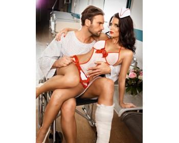 Fotka 1 - Kostým nadržené sestřičky Baci Candy Nurse