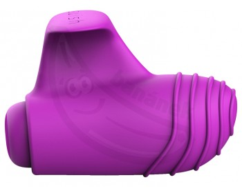 Fotka 1 - Mini vibrátor na prsty bTeased Orchid