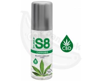 Fotka 1 - Hybridní lubrikační gel S8 Cannabis s CBD konopím