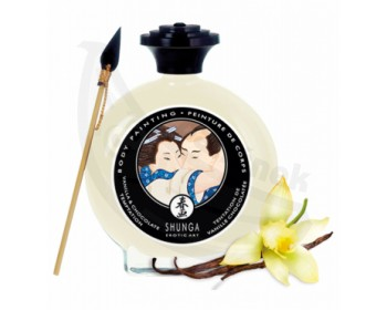 Fotka 1 - Slíbatelný bodypainting Vanilla & Chocolate Temptation 100 ml