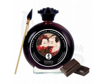 Fotka 1 - Slíbatelný bodypainting Aphrodisiac Chocolate 100 ml