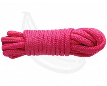 Fotka 1 - Růžové lano na bondage SINFUL 7,6 m