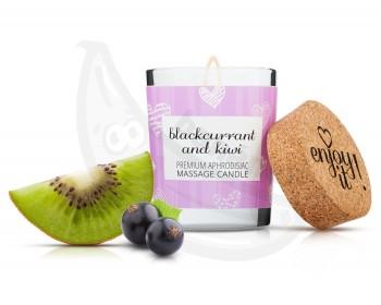 Fotka 1 - Afrodiziakální masážní svíčka MAGNETIFICO blackcurrant and kiwi