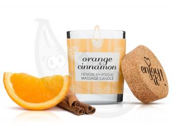 Fotka 1 - Afrodiziakální masážní svíčka MAGNETIFICO orange and cinnamon