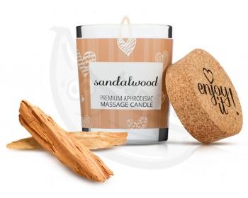 Fotka 1 - Afrodiziakální masážní svíčka MAGNETIFICO sandalwood