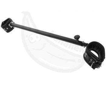 Fotka 1 - Nastavitelná roztahovací tyč ZADO s koženými pouty 65-120 cm