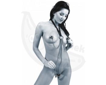 Fotka 1 - Sexy postroj se svorkami na bradavky Sextreme