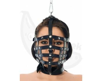 Fotka 1 - Řemínková maska se závěsným kroužkem Rimba