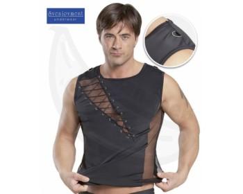 Fotka 1 - Sexy triko bez rukávů Svenjoyment černé