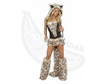 Fotka 1 - Sexy kostýmek levhartí kočička