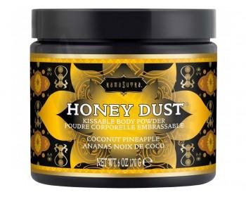 Fotka 1 - Slíbatelný tělový pudr Honey Dust Coconut Pineapple