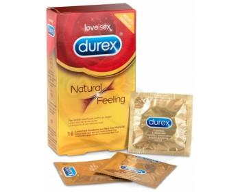 Fotka 1 - Kondomy bez latexu Natural Feeling 16 ks