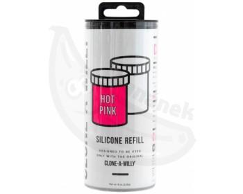 Fotka 1 - Náhradní silikon pro Clone-A-Willy jasně růžový