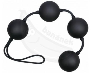 Fotka 1 - Netradiční venušiny kuličky Black Balls Velvet