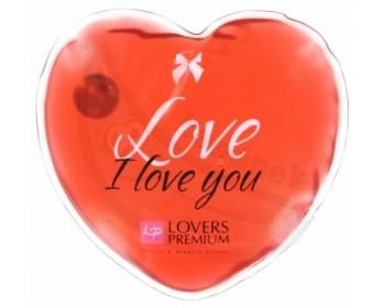 Fotka 1 - Hřejivé masážní srdíčko I Love You