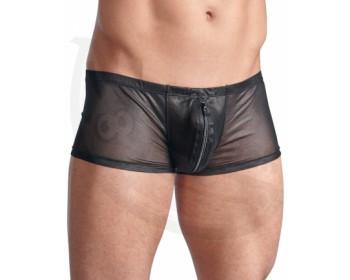 Fotka 1 - Průsvitné pánské boxerky se zipem Svenjoyment