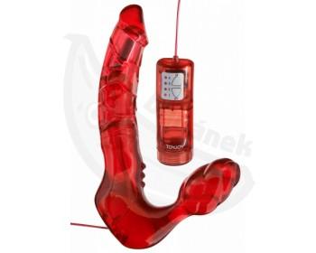Fotka 1 - Samodržící připínák s vibracemi Bend Over Boyfriend