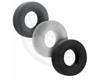 Fotka 1 - Sada tlustých erekčních kroužků Hünky Junk 3 ks