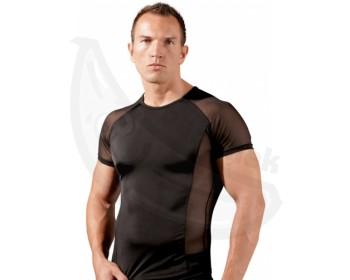 Fotka 1 - Pánské tričko s průsvitnými vsadkami Svenjoyment
