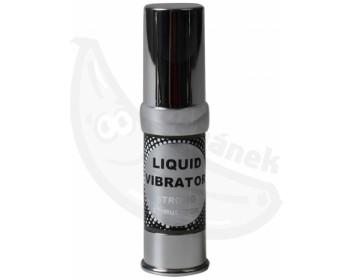 Fotka 1 - Stimulační gel s vibračním efektem Liquid Vibrator Strong 15 ml