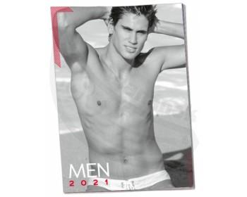 Fotka 1 - Nástěnný kalendář sexy mužů MEN 2021
