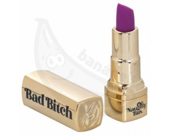 Fotka 1 - Diskrétní vibrátor ve tvaru rtěnky Bad Bitch Lipstick