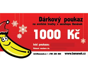 Fotka 1 - Dárkový poukaz v hodnotě 1000 Kč