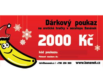 Fotka 1 - Dárkový poukaz v hodnotě 2000 Kč