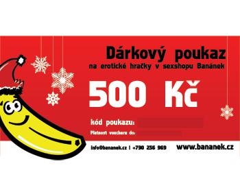 Fotka 1 - Dárkový poukaz v hodnotě 500 Kč