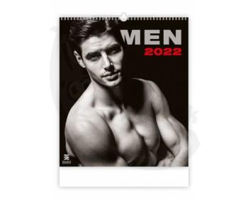 Fotka 1 - Nástěnný erotický kalendář MEN 2022 exkluzivní edice