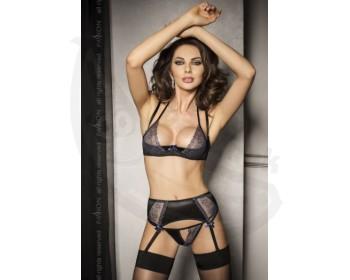 Fotka 1 - Erotický komplet Charlotte krajkový