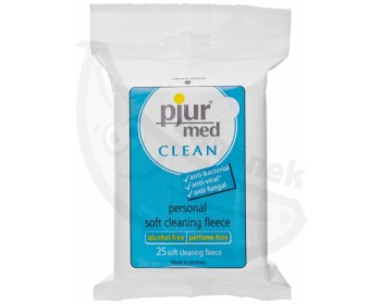Fotka 1 - Vlhčené ubrousky Pjur pro intimní hygienu