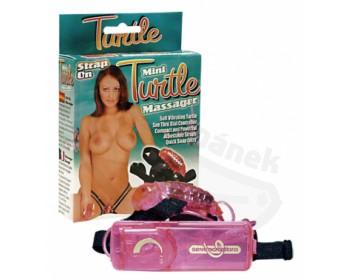 Fotka 1 - Masážní vibrátor na klitoris Mini Turtle Massager vřesový