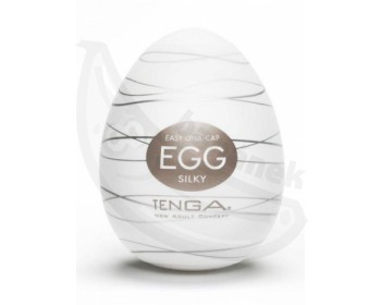 Fotka 1 - Tenga Egg Silky masturbátor pro muže