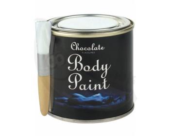 Fotka 1 - Bodypainting v plechovce s příchutí čokolády