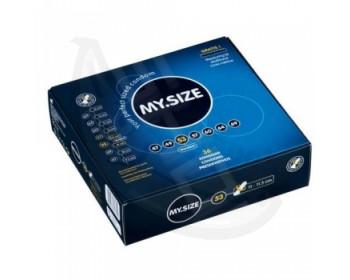 Fotka 1 - MY SIZE kondom 53 mm 1 kus