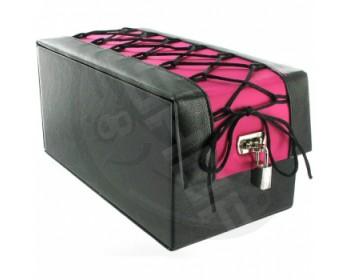 Fotka 1 - Box na erotické pomůcky Devine Toy Boy černo-růžová