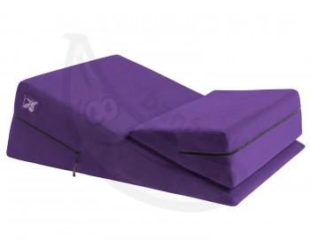 Fotka 1 - Podložka na sex erotický nábytek fialový